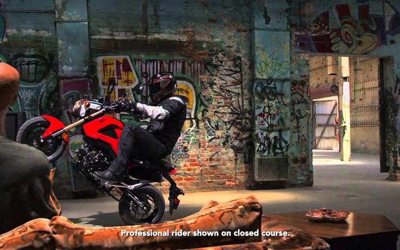 2014-Red-Honda-Grom-Motorcycle-Wheelie-Picture-HD-Wallpaper
